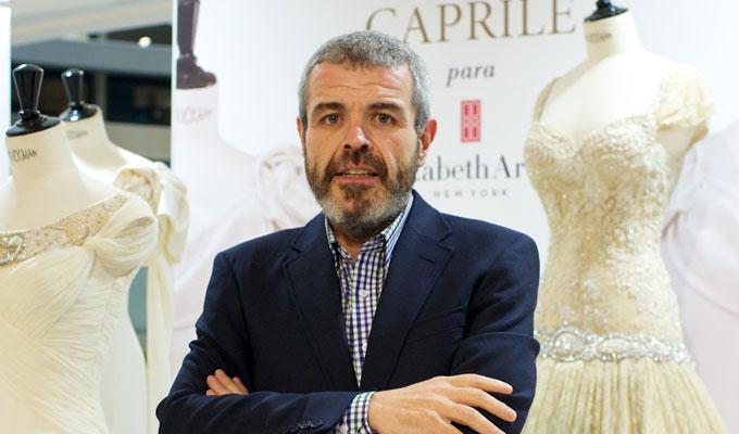 El diseñador de alta costura Lorenzo Caprile