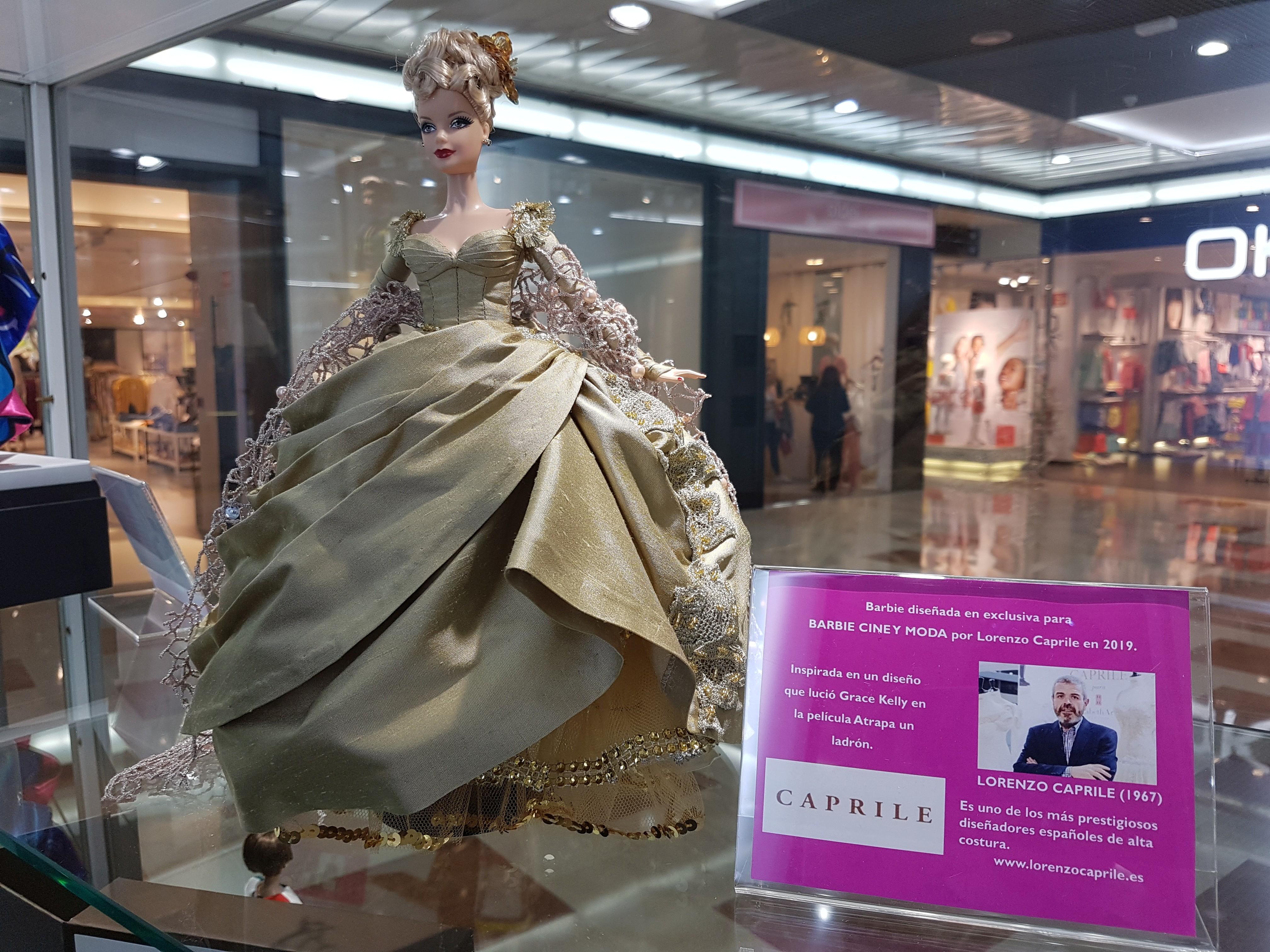La muñeca Barbie Caprile en la exposición